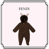FENDI Unisex Baby Girl Dresses & Rompers
