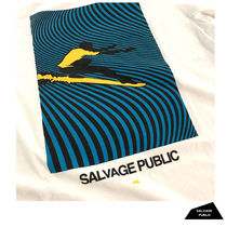 SALVAGE PUBLIC Long Sleeve Crew Neck Street Style Long Sleeves Cotton 4