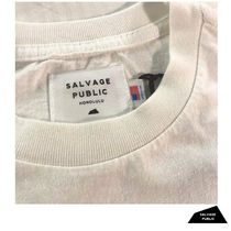SALVAGE PUBLIC Long Sleeve Crew Neck Street Style Long Sleeves Cotton 6