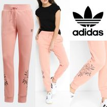 adidas Printed Pants Flower Patterns Casual Style Sweat