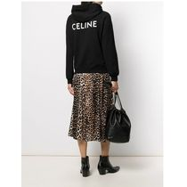 CELINE Short Street Style Long Sleeves Cropped