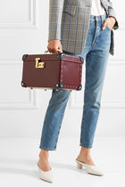 GLOBE TROTTER Blended Fabrics Vanity Bags Leather Bags