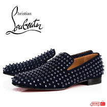 Christian Louboutin ROLLERBOY Loafers Studded Leather Loafers & Slip-ons