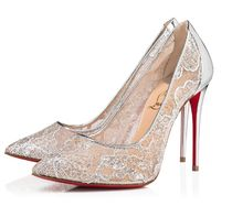 Christian Louboutin Pin Heels Party Style Stiletto Pumps & Mules