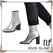 River Island Leather Ankle & Booties Boots