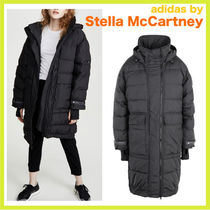 Stella McCartney Plain Long Down Jackets