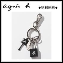 Agnes b Unisex Blended Fabrics Street Style Keychains & Bag Charms