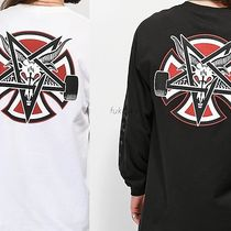 THRASHER Crew Neck Collaboration Long Sleeves Long Sleeve T-Shirts