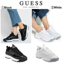 Guess Casual Style Street Style Plain Low-Top Sneakers