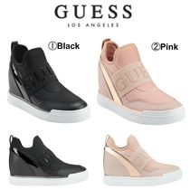 Guess Wedge Casual Style Street Style Plain