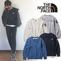 THE NORTH FACE Crew Neck Unisex Long Sleeves Sweatshirts