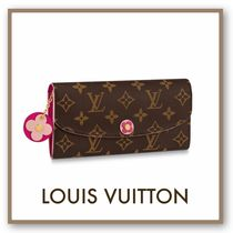 Louis Vuitton PORTEFEUILLE EMILIE Long Wallets