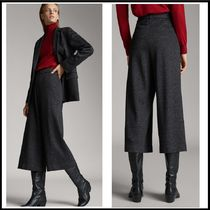 Massimo Dutti Casual Style Cotton Medium Culottes & Gaucho Pants