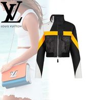 Louis Vuitton Casual Style Street Style Leather Jackets