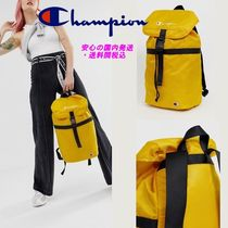 CHAMPION Casual Style Street Style Plain Backpacks