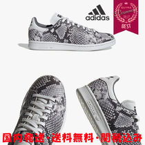 adidas STAN SMITH Casual Style Blended Fabrics Street Style