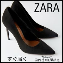 ZARA Casual Style Plain Pumps & Mules
