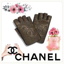 CHANEL ICON Unisex Street Style Leather Home Party Ideas Halloween