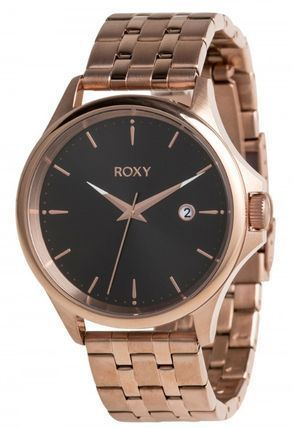 ROXY Casual Style Round Stainless Analog Watches