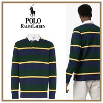 POLO RALPH LAUREN Pullovers Stripes Long Sleeves Cotton Polos