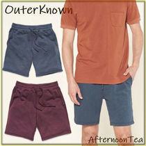Outer known Blended Fabrics Plain Handmade Shorts