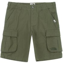 THE NORTH FACE Unisex Cotton Logo Cargo Shorts