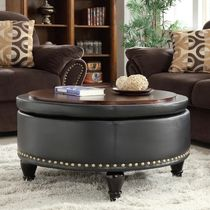 Studded Coffee Tables Table & Chair