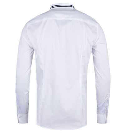 Plain Cotton Logo Shirts