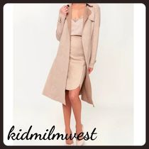 Lulu's Plain Trench Coats