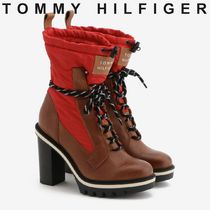 Tommy Hilfiger Plain Toe Casual Style Unisex Blended Fabrics Street Style