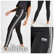 adidas Casual Style Street Style Plain Cotton Long Bottoms
