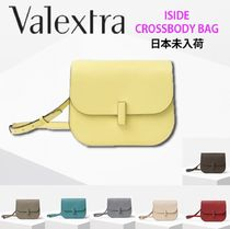 Valextra Iside Casual Style Calfskin 2WAY Crossbody Shoulder Bags