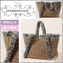 Anthropologie Stripes Casual Style Totes