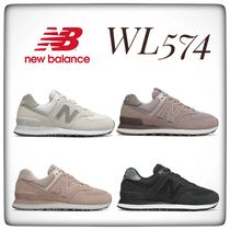 New Balance Casual Style Unisex Oversized Logo Low-Top Sneakers