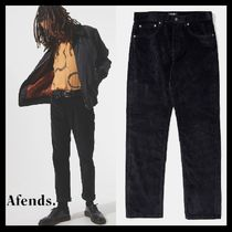 AFENDS Tapered Pants Unisex Corduroy Street Style Tapered Pants