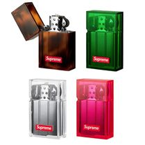 Supreme Street Style Collaboration Plain Wallets & Card Holders