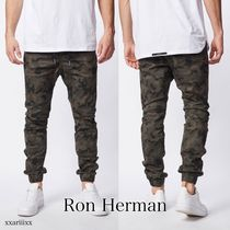 Ron Herman Camouflage Street Style Cotton Joggers & Sweatpants