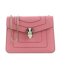 Bvlgari Casual Style Leather Crossbody Shoulder Bags