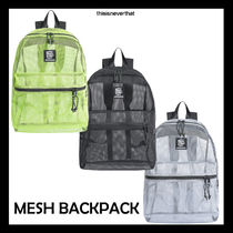 thisisneverthat Casual Style Unisex Collaboration Backpacks