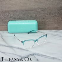 Tiffany & Co Unisex Square Eyeglasses