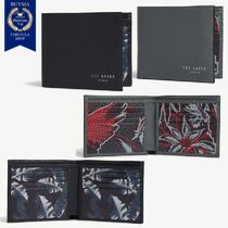 TED BAKER Leather Folding Wallets