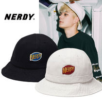 NERDY Unisex Bucket Hats Wide-brimmed Hats