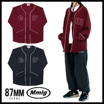 87MM Casual Style Unisex Shirts & Blouses