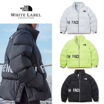 THE NORTH FACE WHITE LABEL Short Unisex Street Style Plain Down Jackets