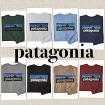 Patagonia Unisex Street Style Long Sleeves Plain Long Sleeve T-Shirts