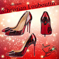 Christian Louboutin Other Animal Patterns Pin Heels Pointed Toe Pumps & Mules