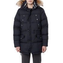 Burberry Logo Down Jackets
