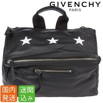 GIVENCHY Star Street Style 2WAY Plain Messenger & Shoulder Bags