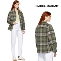 Isabel Marant Other Check Patterns Casual Style Unisex Wool Street Style