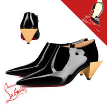 Christian Louboutin Casual Style Plain Leather Party Style Elegant Style